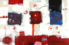 Titre: Virgules et spirales, Artiste: FORGET, Christophe