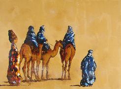 Titre: Sahara 6, Artiste: MEISSONNIER, Didier