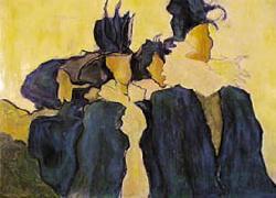 Titre: Dames en noir, Artiste: Dehareng, Marc