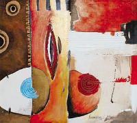 Titre: Composition 8, Artiste: Faber , Norman