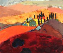 Titre: Toscane 15, Artiste: Maréchal , Marie-Ange