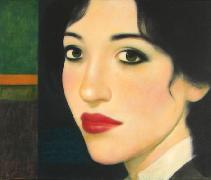 Titre: La brune, Artiste: LAURENZI, Paul