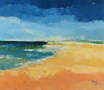 Titre: La plage, Artiste: Remy, Madeleine