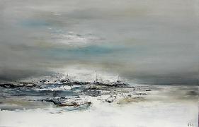 Titre: Frontière minerale, Artiste: RUELLE, Nicolas