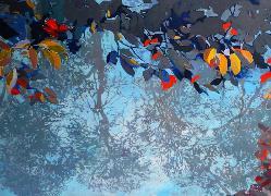 Titre: Reflets sur l'eau 2, Artiste: LUNVEN, Soizic
