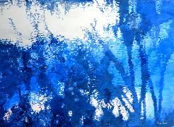 Titre: Reflets en bleu, Artiste: LUNVEN, Soizic