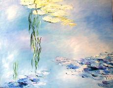 Titre: Bleu azure, Artiste: Van Landeghem, Joelle