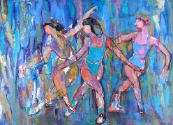 Titre: Arabesque, Artiste: Monnet, Madeleine