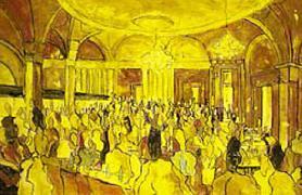 Titre: La Taverne, Artiste: Dehareng, Marc