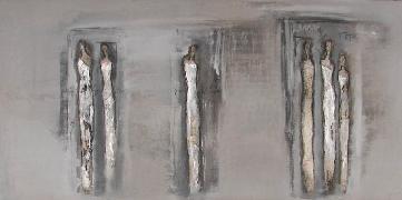 Titre: L homme et l écriture II, Artiste: Van Vaerenbergh, Carine