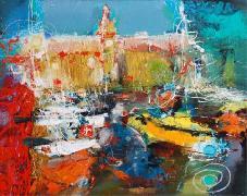 Titre: Marseille, Artiste: ZALANS, Ilgvars