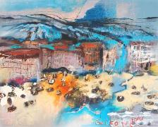 Titre: Golfo du Lion, Artiste: ZALANS, Ilgvars