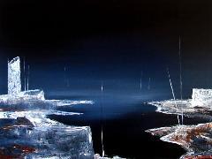 Titre: Abstract landscape 122, Artiste: Keuller, Olivier