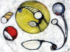 Titre: The Moon, Artiste: Couck, Jef
