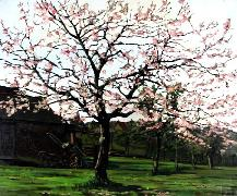 Titre: Cerisier, Artiste: Jacques, Julien