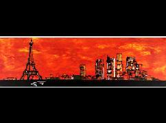 Titre: Paris, Artiste: GILLES, Bernard