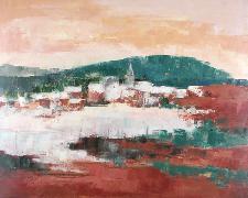Titre: Neige à Villers, Artiste: Remy, Madeleine