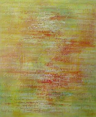 Titre: Page jaune, Artiste: Bauwin, Miche