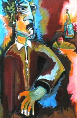 Titre: Roger, un muscadet, Artiste: CHEVALEYRIAS, David