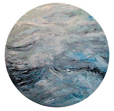 Titre: Un peu de houle, Artiste: Goulley, Geneviève