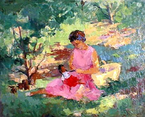 Titre: Ma fille, Artiste: Hoebeke, Maguy