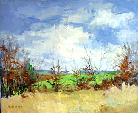 Titre: Brabant en Automne, Artiste: Hoebeke, Maguy