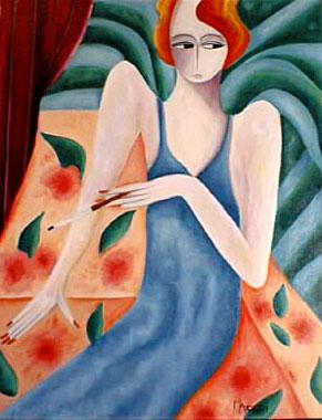 Titre: Charleston, Artiste: Machri, Marie-Christine
