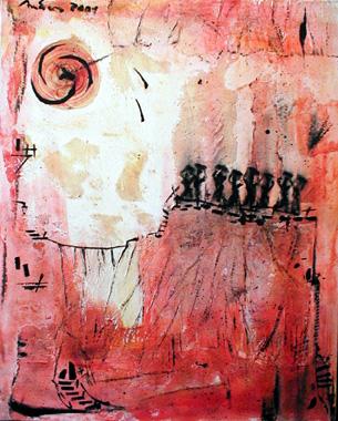 Titre: Sonnenanbetung, Artiste: Anders, Uwe