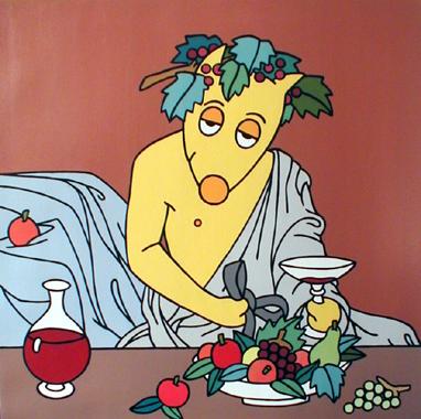 Titre: Vino Bestiolus, Artiste: BELLIER, Franck