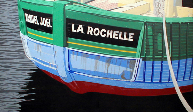 Titre: Manuel Joël - La Rochelle, Artiste: Dumont, Michel
