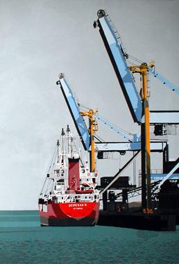 Titre: Denizsan II - Boulogne, Artiste: Dumont, Michel