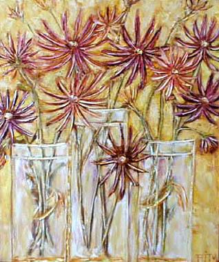 Titre: Fleurs étoilées, Artiste: FITY, Christophe