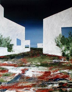 Titre: Abstract Landscape 10, Artiste: Keuller, Olivier