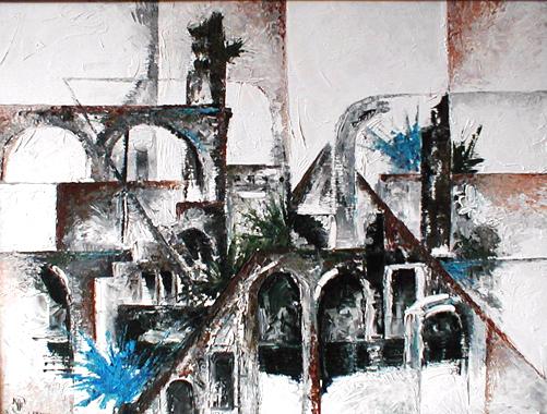 Titre: Architecture 1, Artiste: Keuller, Olivier