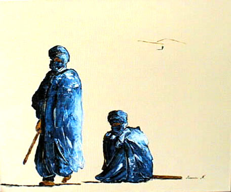 Titre: Sahara 1, Artiste: MEISSONNIER, Didier