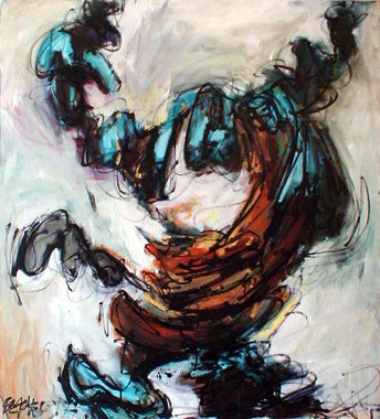Titre: Abstraction 9, Artiste: Beauvent, Mikael