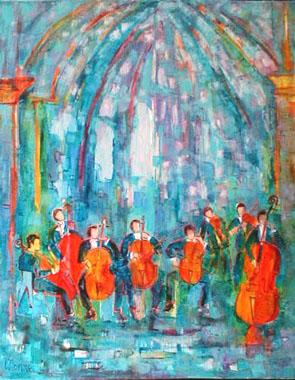 Titre: Oratorio, Artiste: Monnet, Madeleine