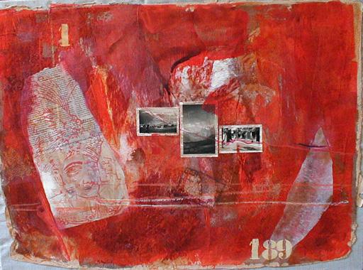 Titre: Cheminement intérieur, Artiste: Paul, Monique