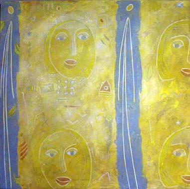 Titre: Coeur Miró, Artiste: Piaf,