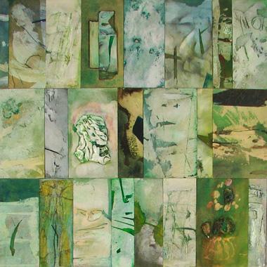 Titre: Vert 23, Artiste: PIGNAT, Armande