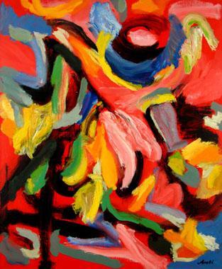 Titre: Joie de vivre, Artiste: Arati , Nicolas