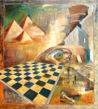 Titre: Les Chemins de la Liberté 19, Artiste: Merget, Thierry