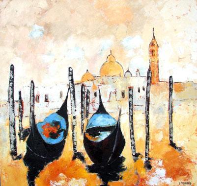 Titre: Venise 6, Artiste: RICHARD, Erica