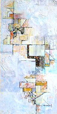 Titre: Puzzle jaune, Artiste: Salamonesco, Claudia