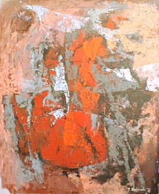 Titre: Fièvre, Artiste: Wroblewski, Jan
