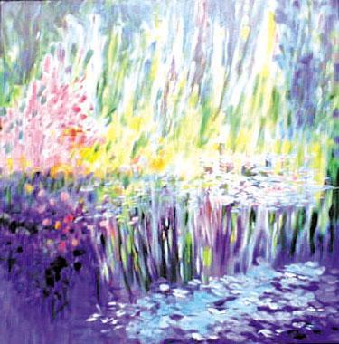 Titre: Giverny 07, Artiste: Van Landeghem, Joelle