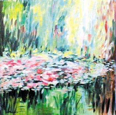 Titre: Giverny 11, Artiste: Van Landeghem, Joelle
