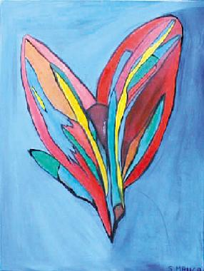 Titre: Papillon, Artiste: Manca, Serge