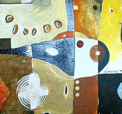 Titre: Composition 1, Artiste: Faber , Norman