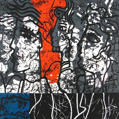 Titre: La couleur de la parole 3, Artiste: PHERIVONG, Philippe
